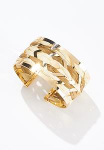 Raffia Cuff Bracelet
