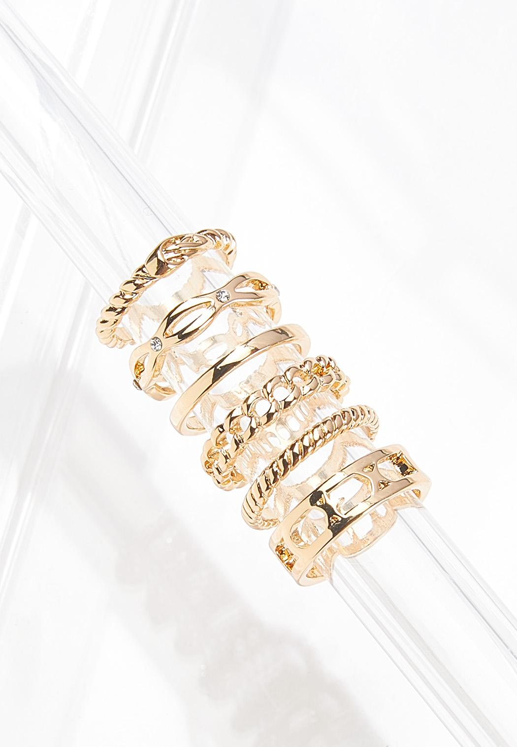 Mixed Chain Ring Set