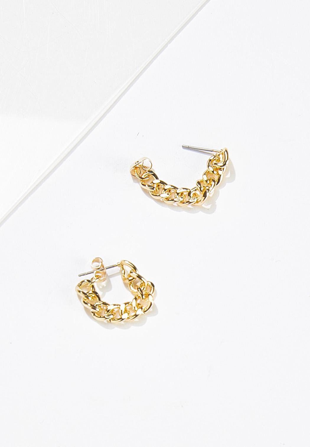 Chain Front Back Earrings