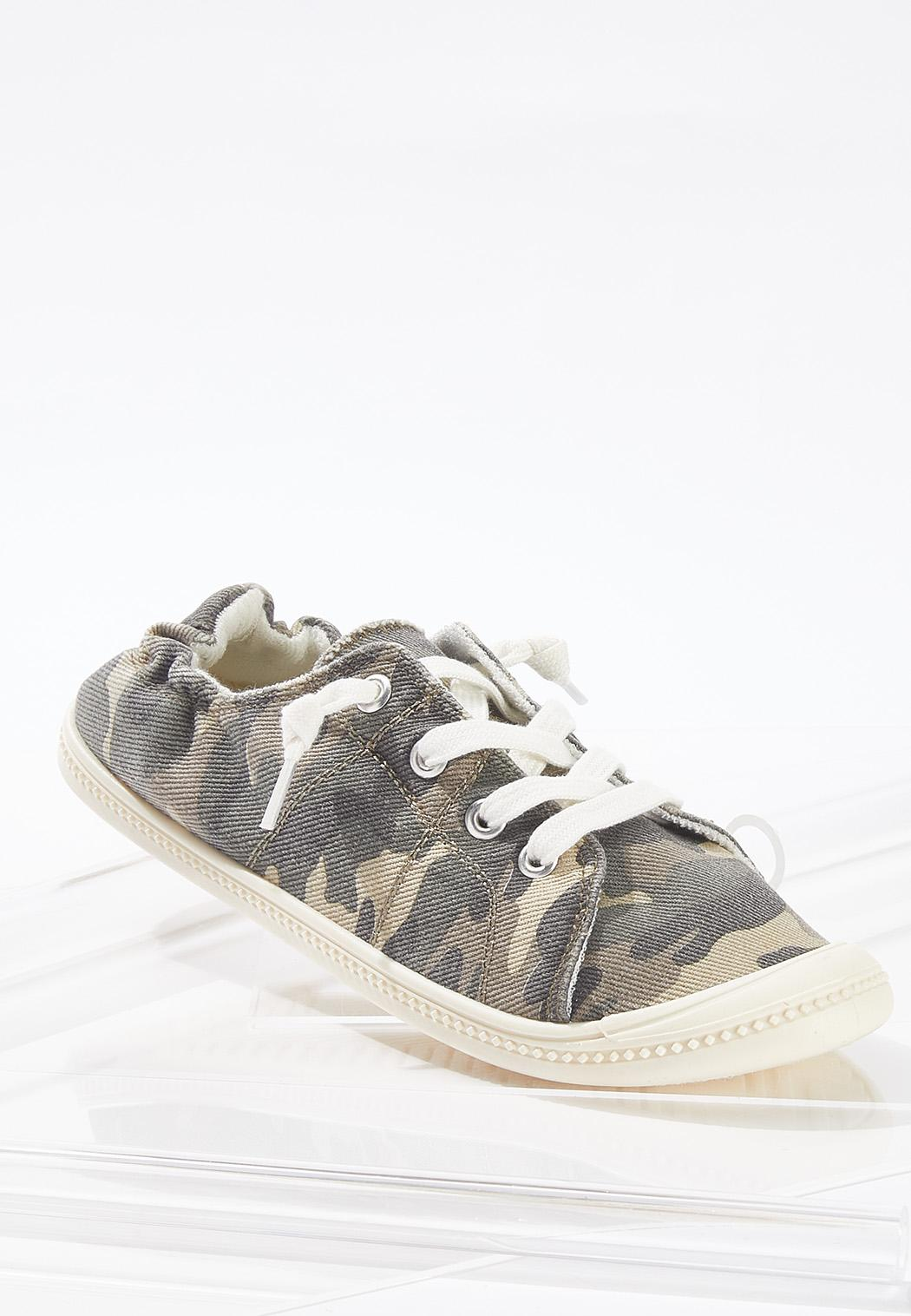 Camo Scrunch Sneakers