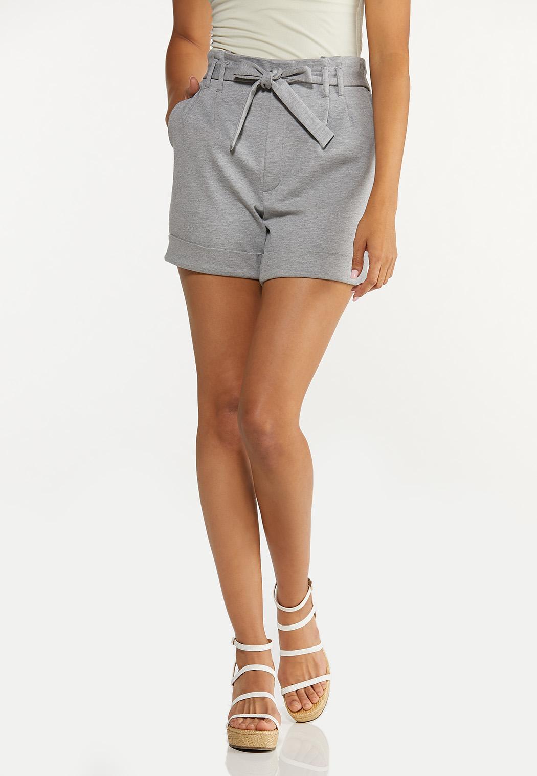 Ponte Cuff Shorts