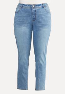 Plus Size Super Stretch Skinny Jeans