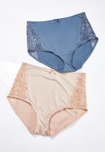 High Waist Brief Panty Set