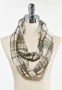 Plaid Perfection Infinity Scarf