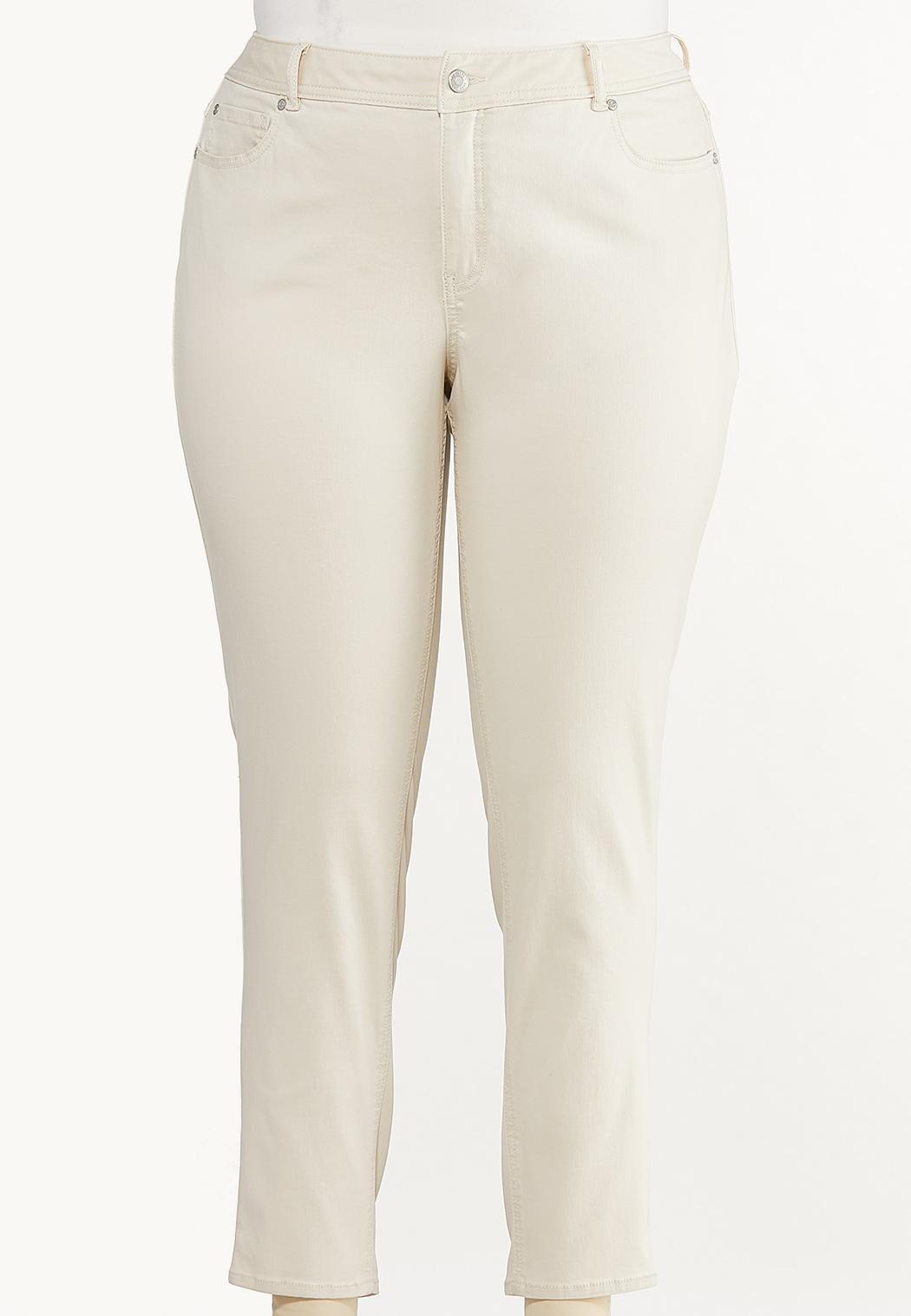 Plus Size Neutral Skinny Jeans