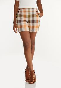 Harvest Plaid Shorts