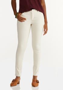 Neutral Skinny Jeans