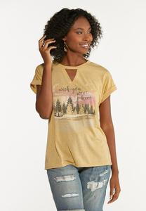 Plus Size Wish You Were Here Tee