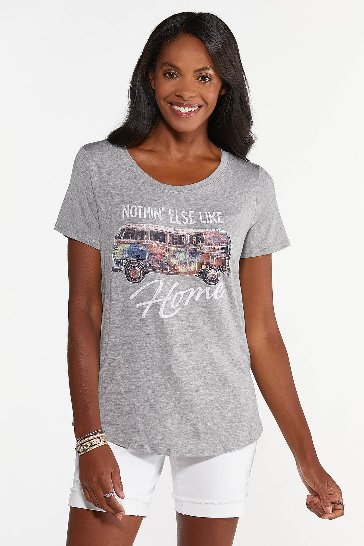 Plus Size Nothin` Like Home Tee