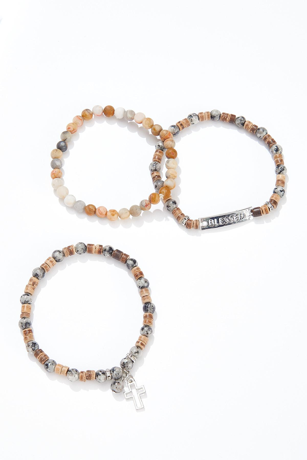 Mixed Inspirational Bracelet Set