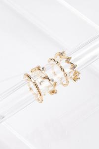 Mixed Gold Ring Set