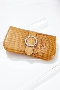 Golden Buckle Snap Wallet