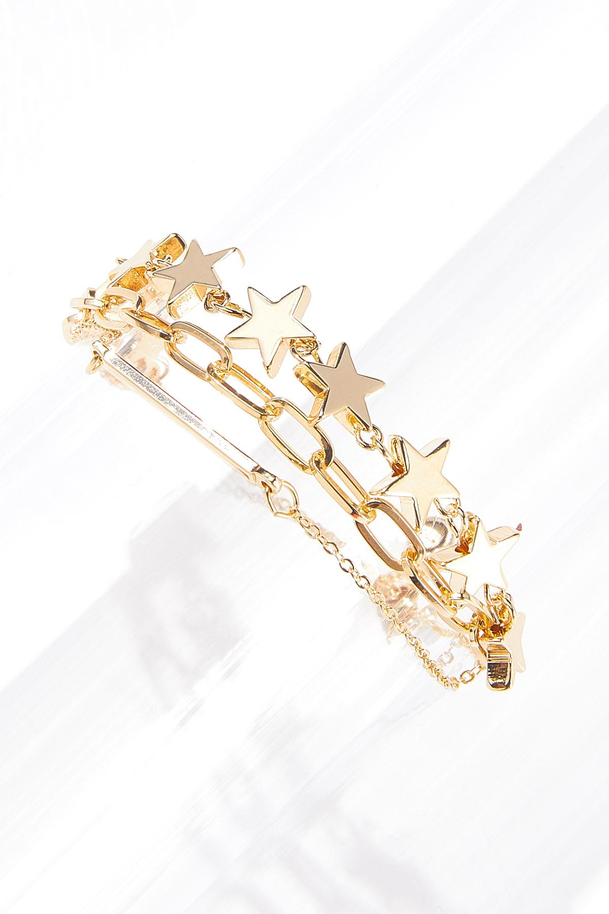 Chain Link Star Bracelet