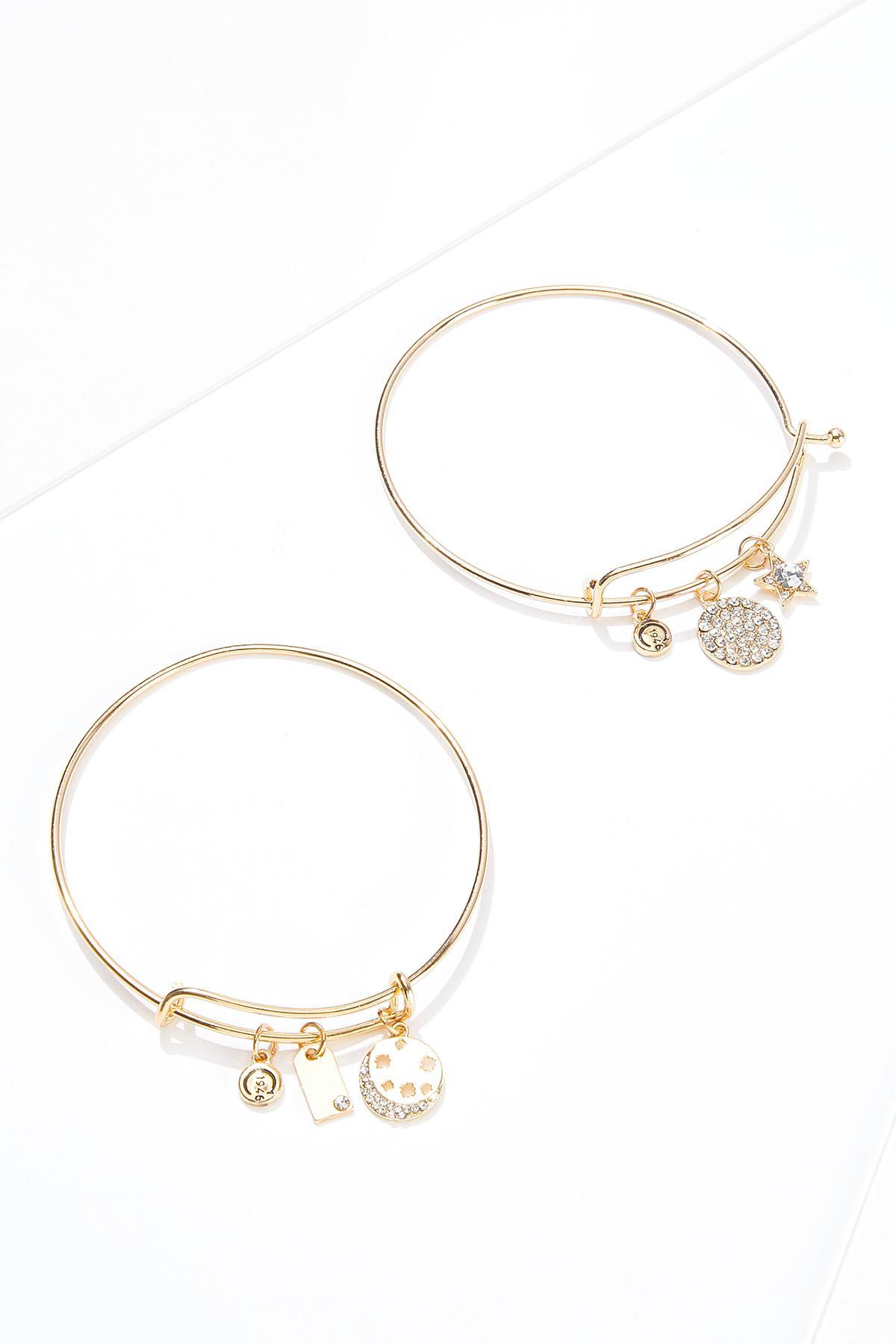 Celestial Charm Bracelet Set