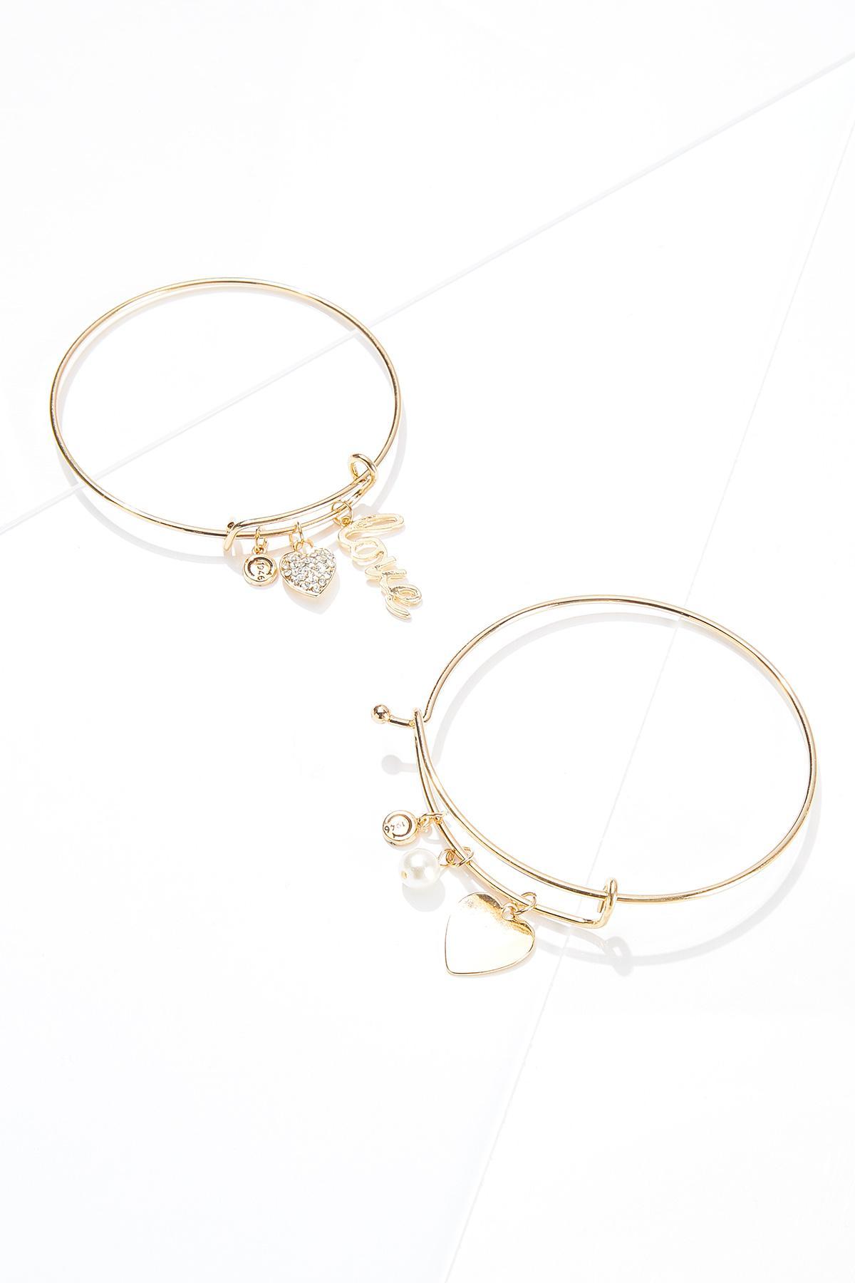 Lovely Charm Bracelet Set