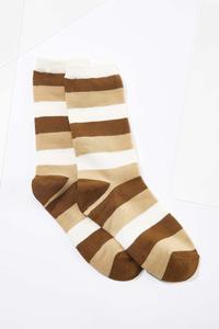 Metallic Stripe Socks