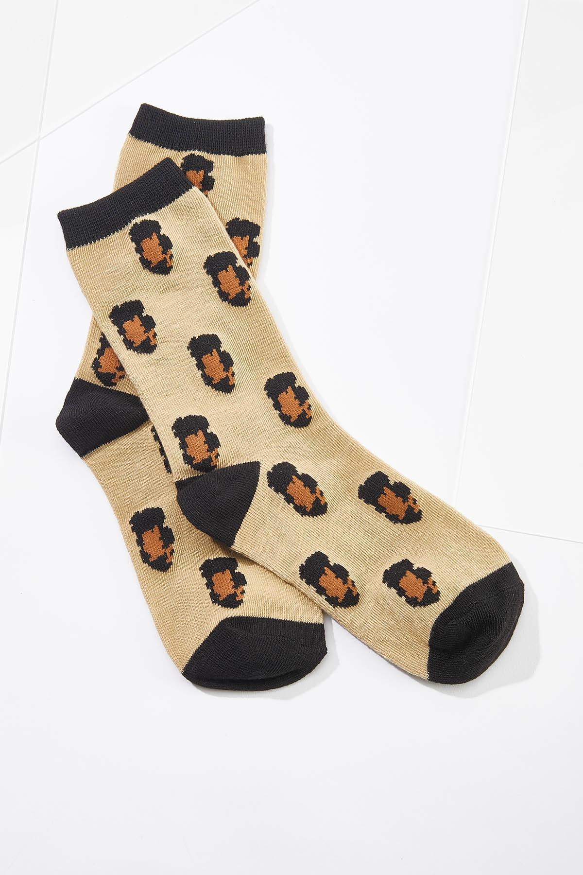 Animal Print Socks