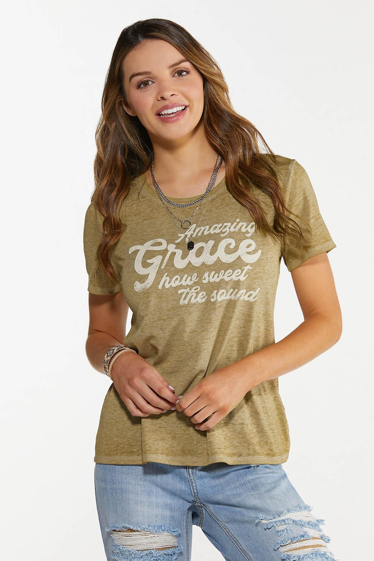 Plus Size Amazing Grace Tee