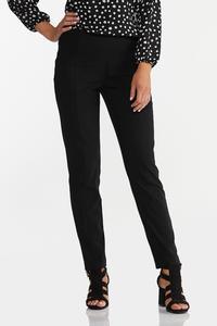 Black Pull-On Pants