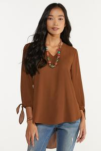 Plus Size Extreme High-Low Tunic