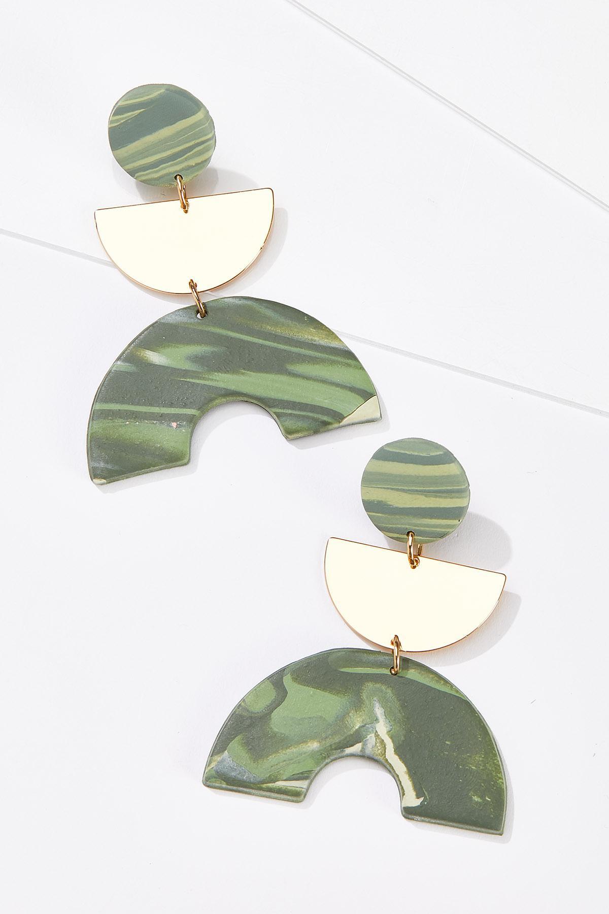 Crescent Post Earrings