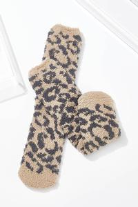 Leopard Cozy Socks