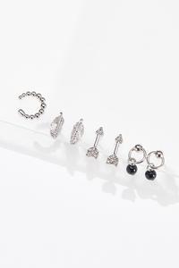 Delicate Silver Earring Set