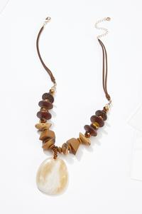 Down To Earth Cord Necklace