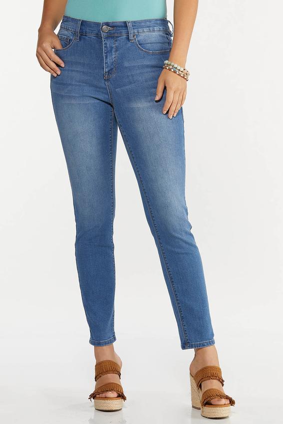 Light High-Rise Skinny Jeans