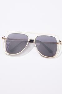 Cutout Frame Sunglasses