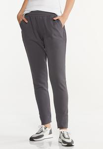 Contrasting French Terry Pants