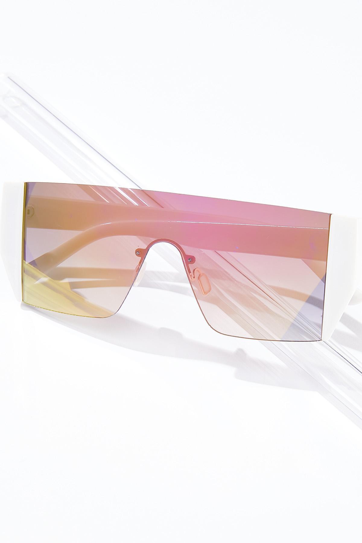 Mirrored Shield Sunglasses