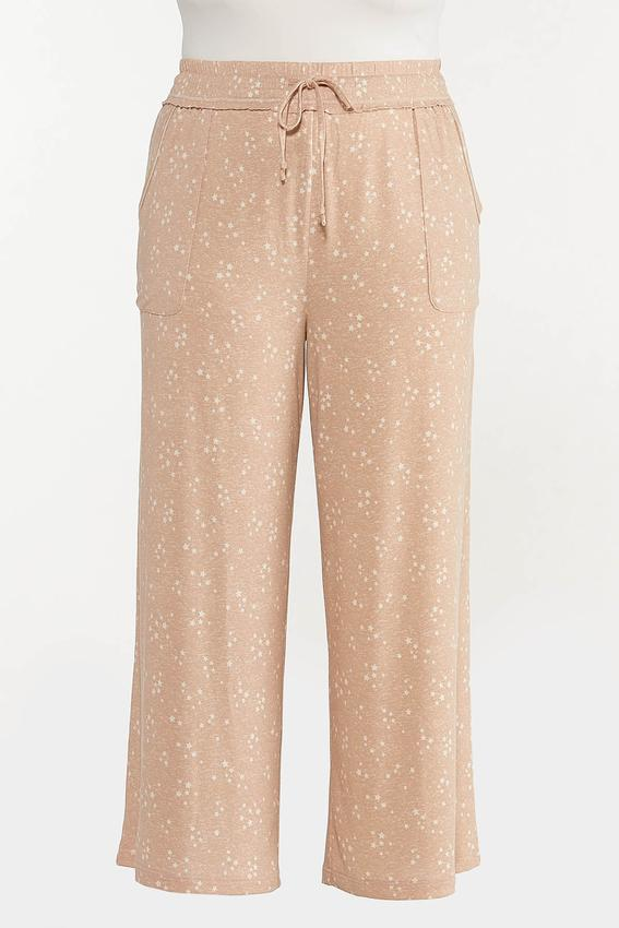 Plus Size Scattered Star Lounge Pants