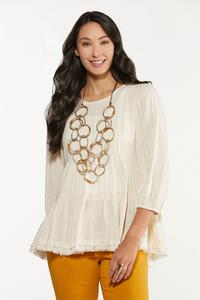 Ivory Tiered Tunic