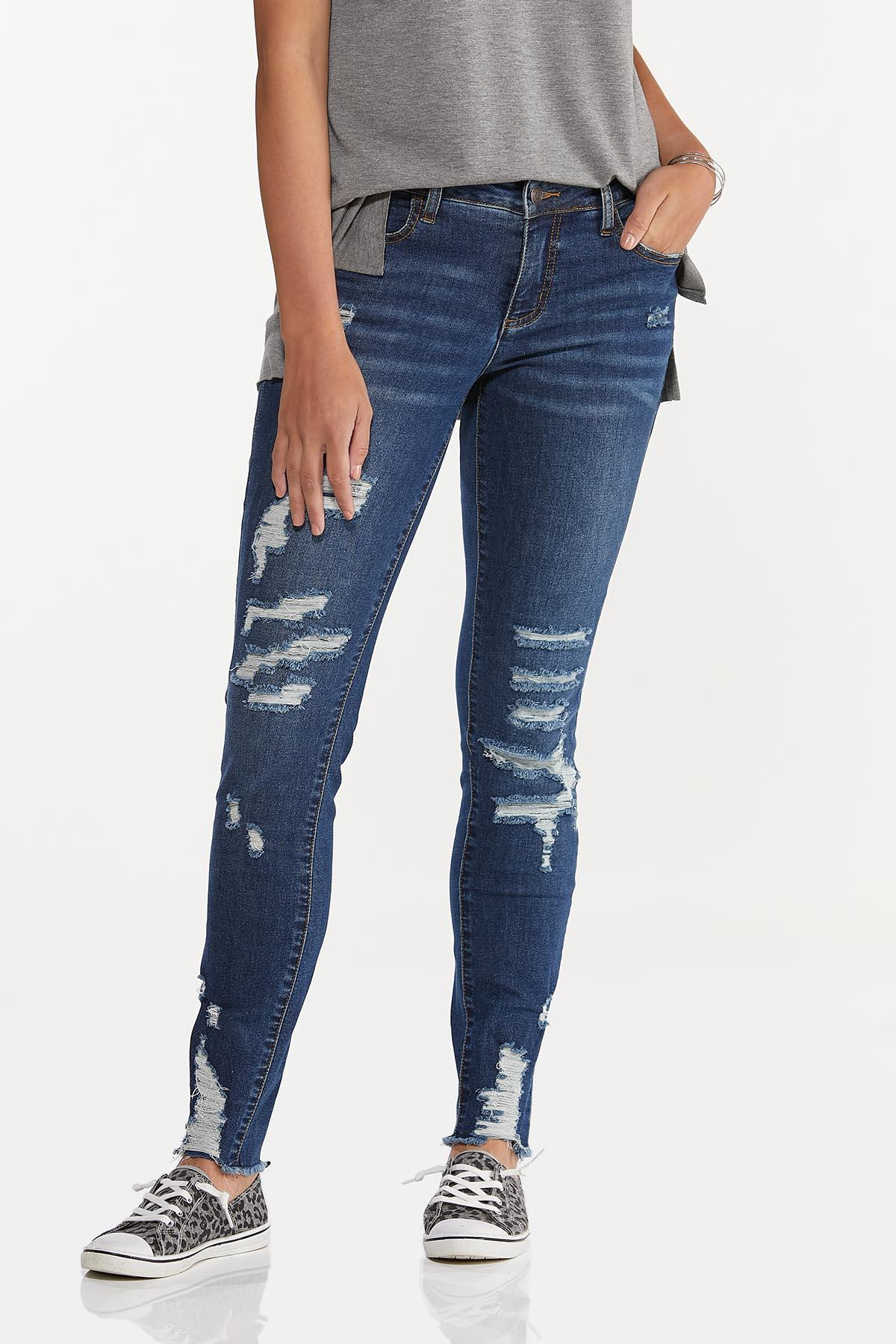 Distressed Jeggings