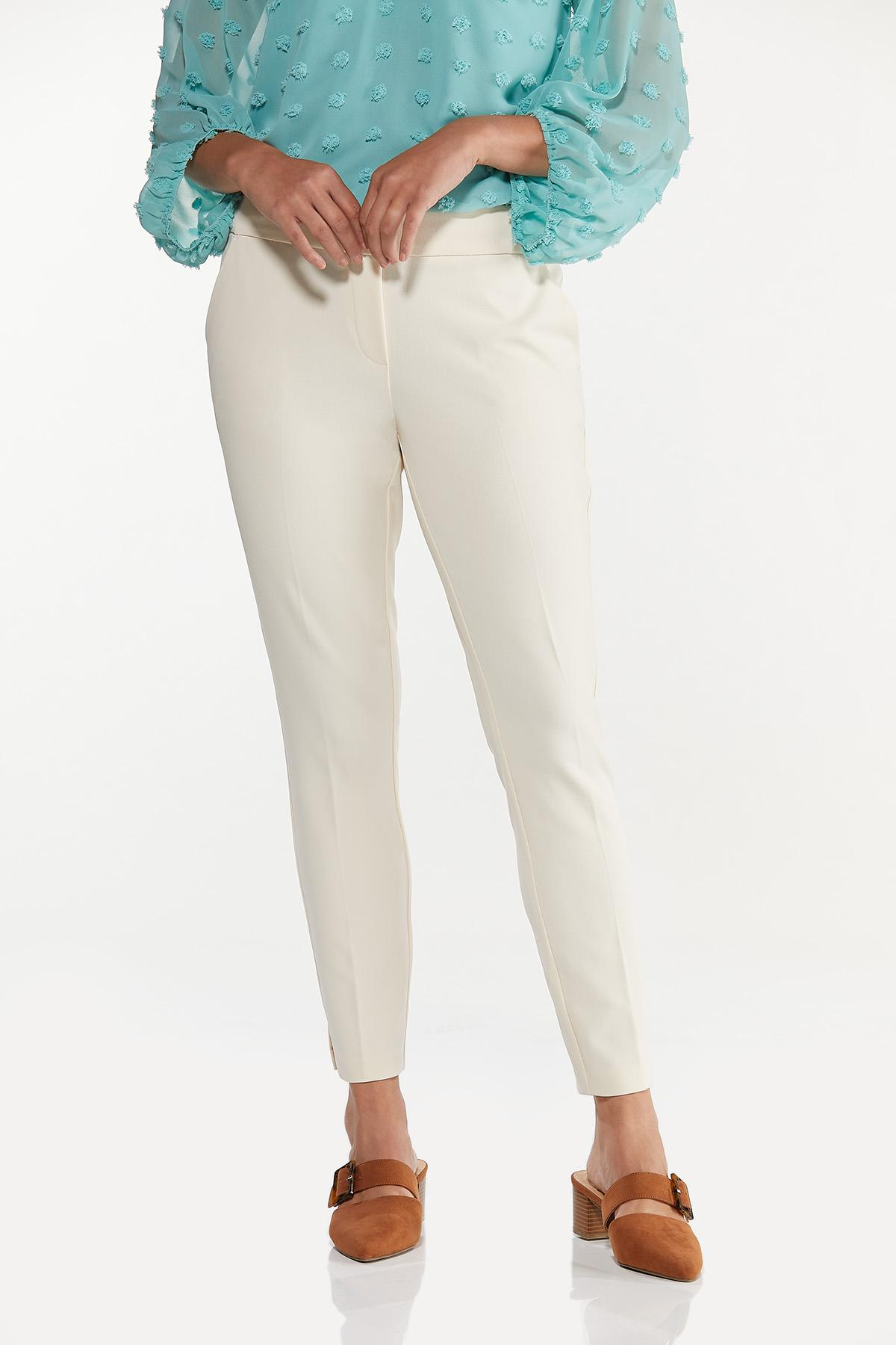 Slim Pull-On Pants