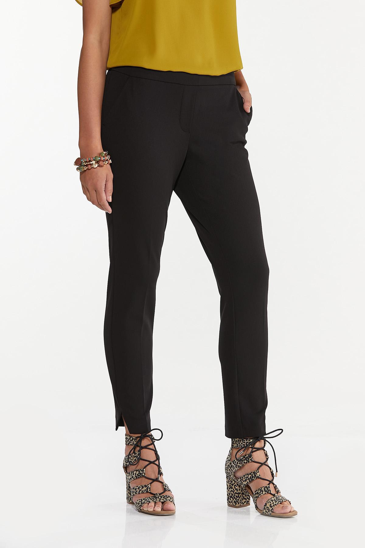 Petite Slim Pull-On Pants