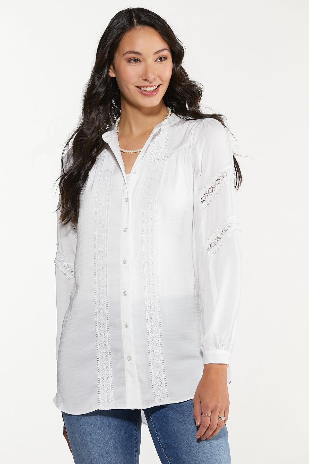 Lace Trim Tunic