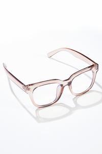 Lucite Tan Blue Light Glasses