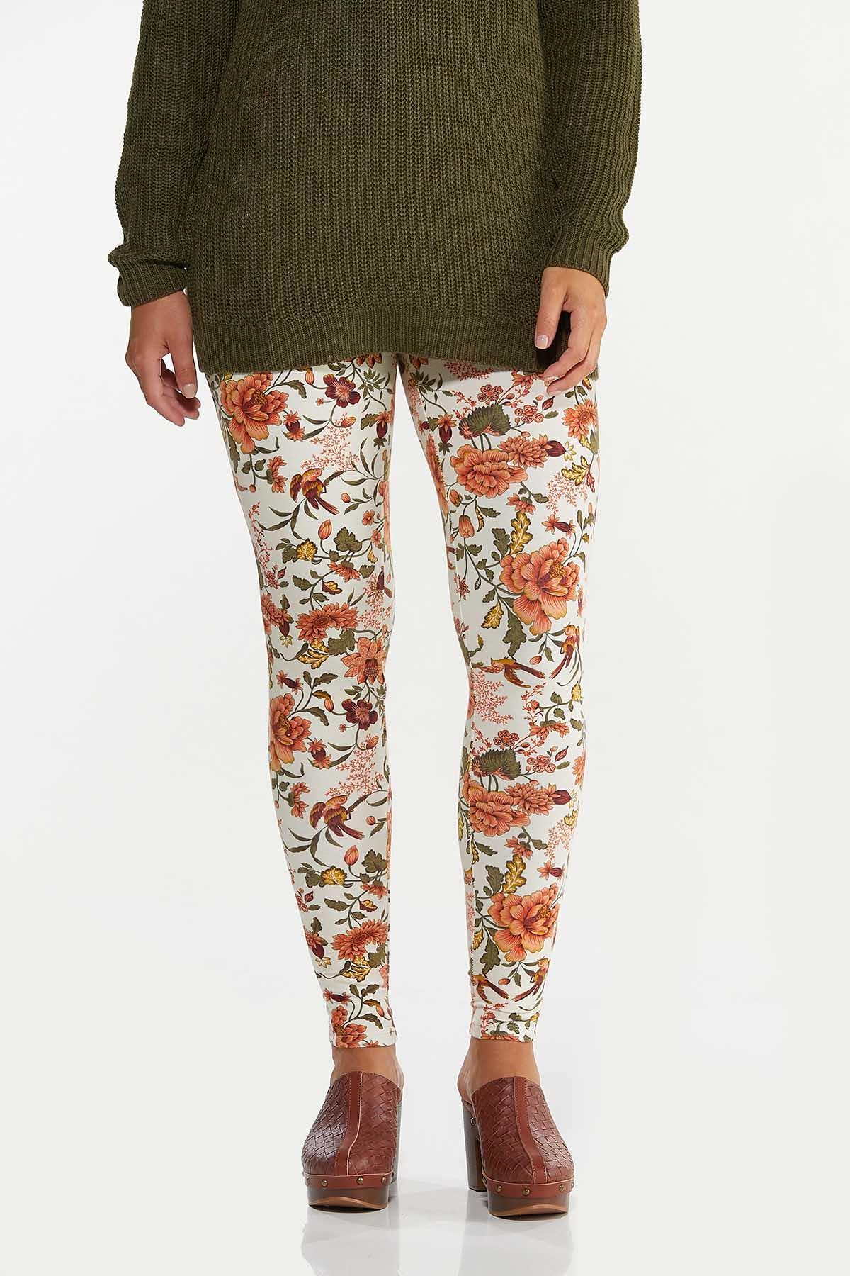 Spice Floral Leggings