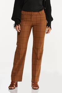 Windowpane Trouser Pants
