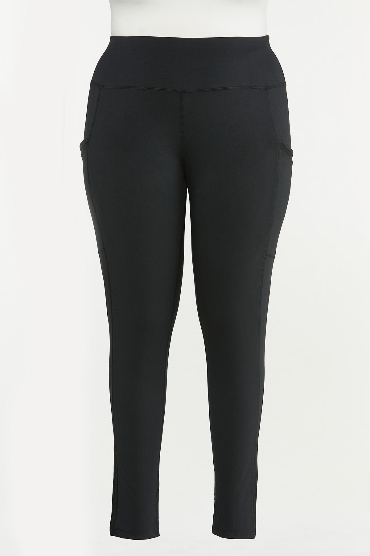 Plus Size Pocket Leggings