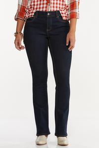 Petite Dark Bootcut Jeans