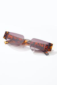 Oval Tortoise Sunglasses