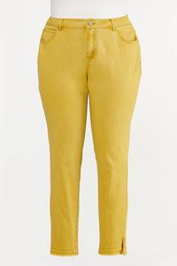 Plus Size Colored Skinny Jeans