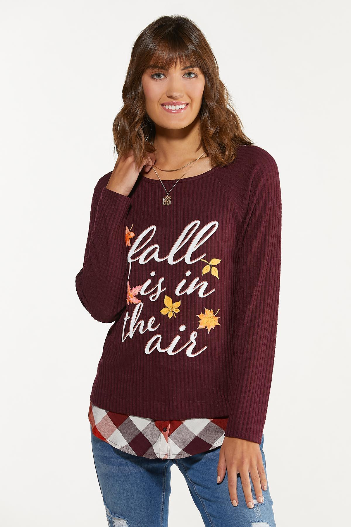 Fall Is In The Air Top