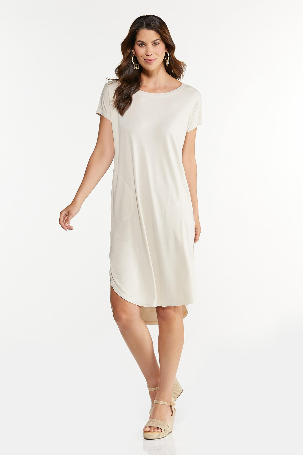 Natural Tee Midi Dress