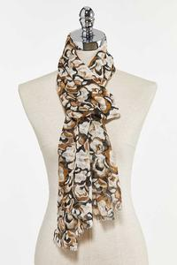 Floral Camouflage Scarf