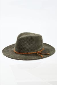 Corduroy Panama Hat