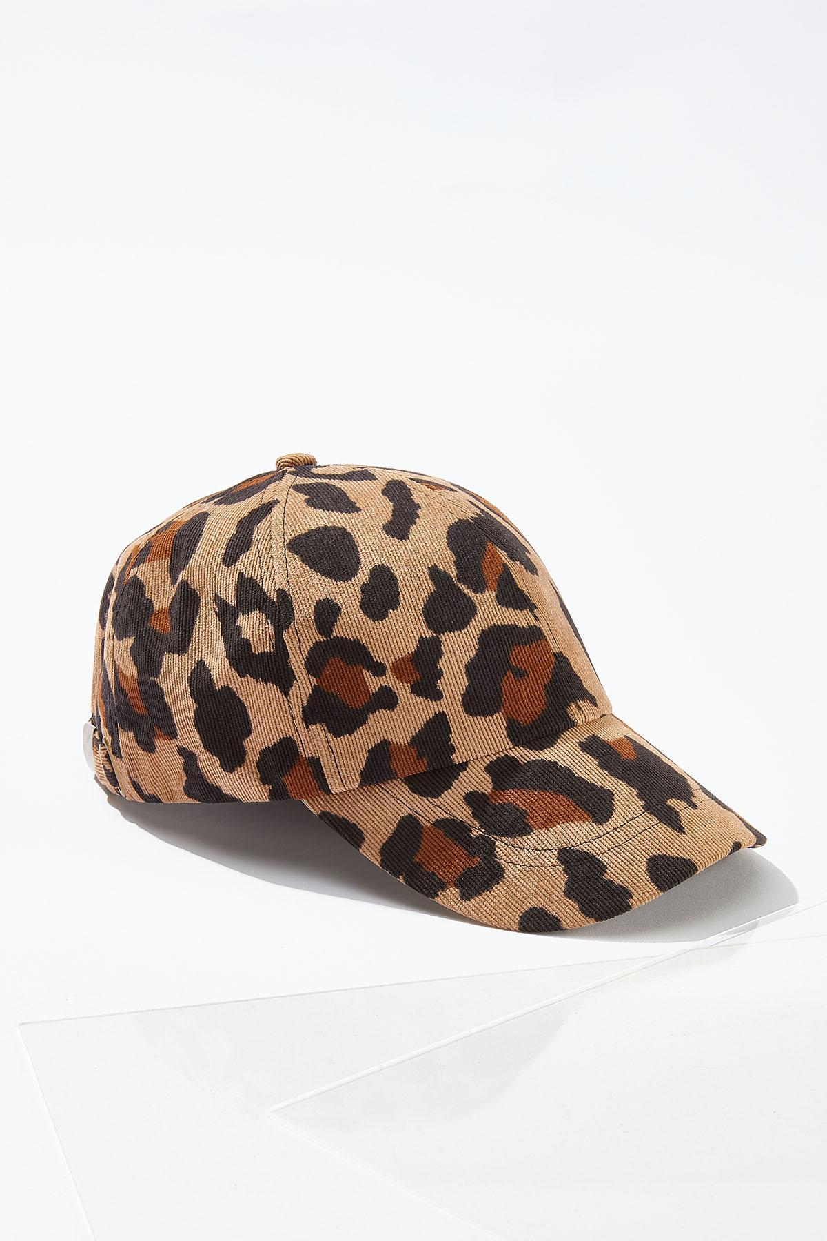 Leopard Corduroy Hat